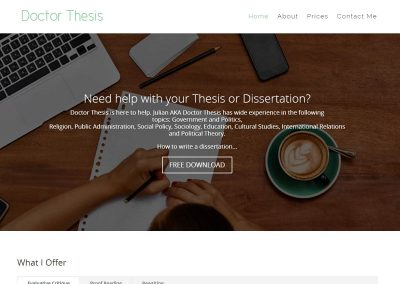 Doctor Thesis